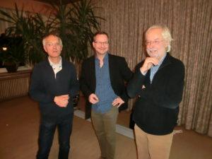 Horst Kowarsch, Henrik Paulitz und Manfred Ertl